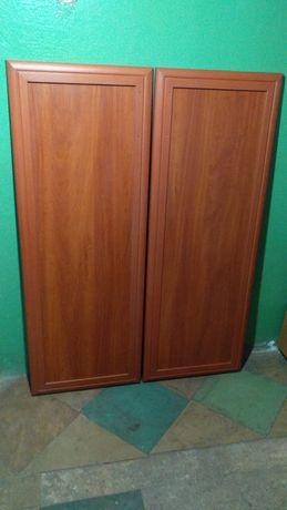 Две двери из МДФ профиля
