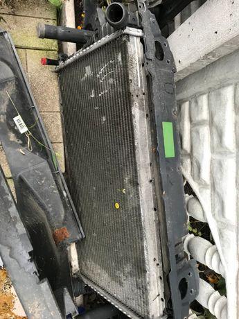 Радиаторы, компрессор кондиционера BMW 5 е39 м57