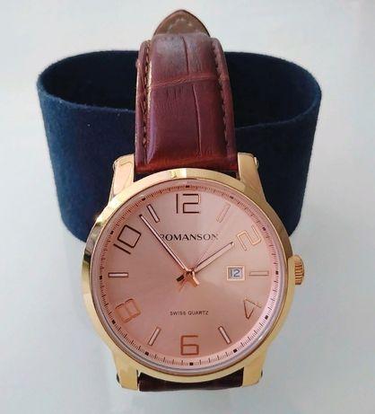 Позолоченые часы Romanson TL0334MG GD. (состояние новых).
