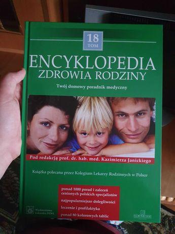 Encyklopedia zdrowia 18 tomów