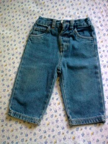джинсы на мальчика до 3-х лет