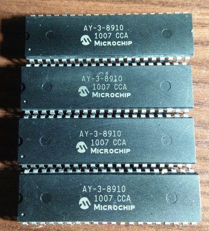Музыкальный процессор AY-3-8910