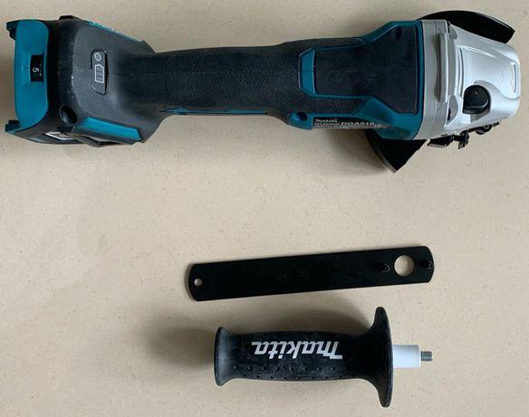 Nieużywana Makita DGA 518 akum. szlifierka kątowa 125mm 18V, AWS, gw.
