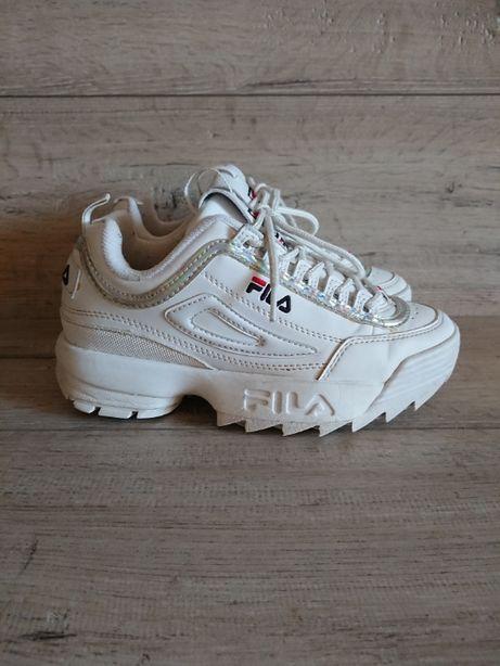 Кроссовки белые Фила Fila Disruptor 2 35-36р 22,5 см