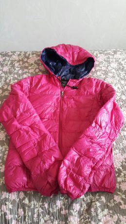 Курточка Zara легкий пуховик.