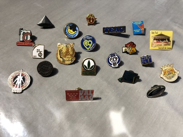 Conjunto 35 pins - coleção