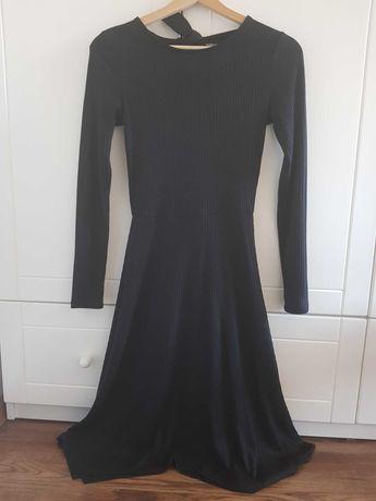 Czarna sukienka Mohito, rozm. XS
