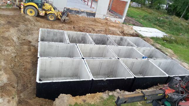 Szambo szamba betonowe, zbiorniki na deszczówkę Poznań, Konin, Koło