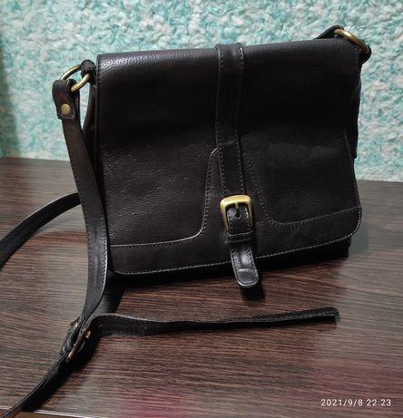 Кожаная сумка M collection