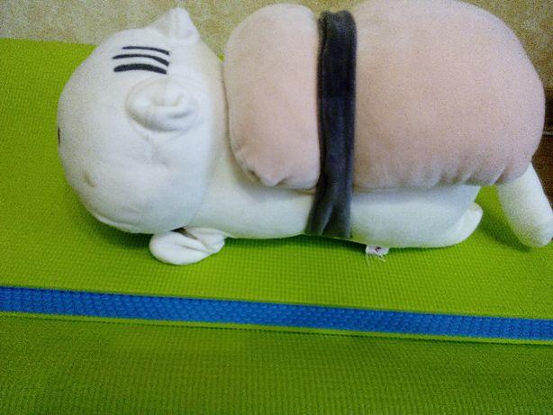 Мягкая игрушка кот в японском стиле