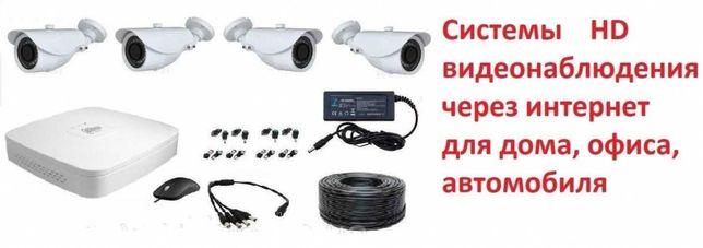Установка видеонаблюдения сигнализаций камер в склад