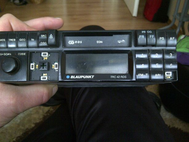 Radio kaseciak BLAUPUNKT TRC 42 RDS