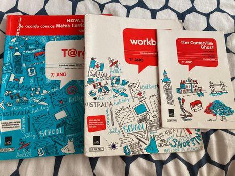 Target Livro de Inglês 7ºAno e Caderno de Atividades