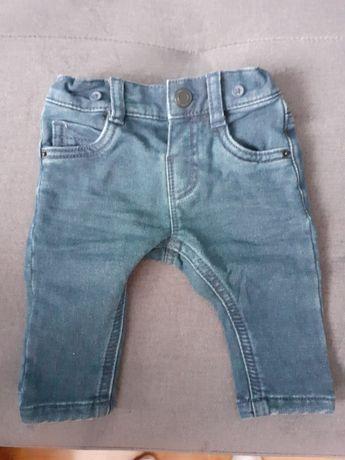 Spodnie jeansowe niemowlęce C&A r.62