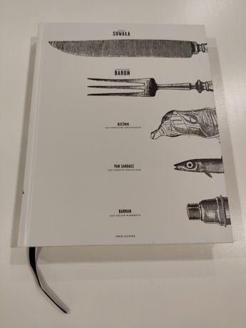 """""""Przepisy i opowieści"""" Suwała Baron i inni - książka kucharska"""