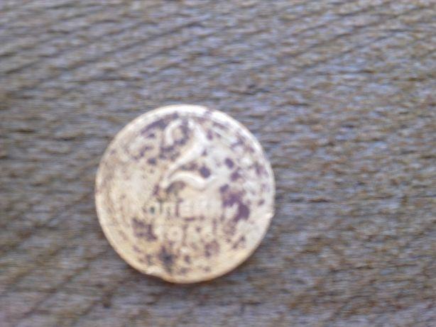 коллекционная монета 2 копейки 1956, 1980 , 5 копеек 1988, 10копеек 19