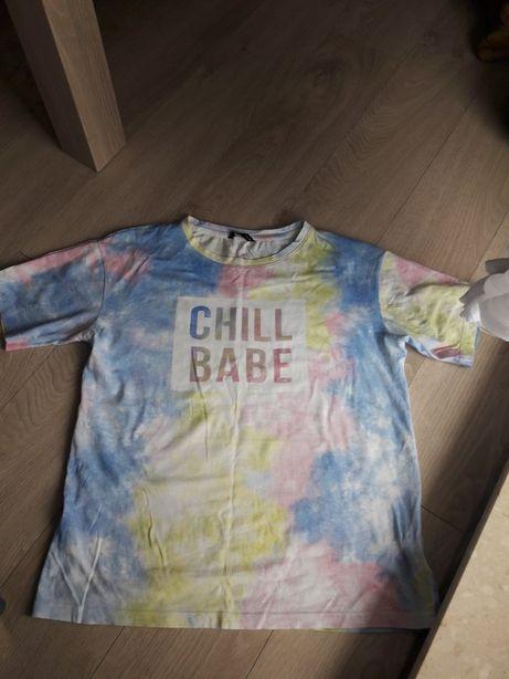 Bluzka House r. M bluzeczka t-shirt krótki rękaw rękawek