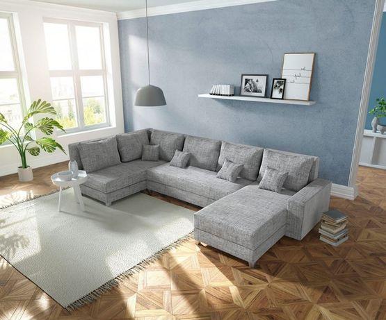 Duży narożnik VERGO - nowoczesna kanapa w kształcie U, od producenta