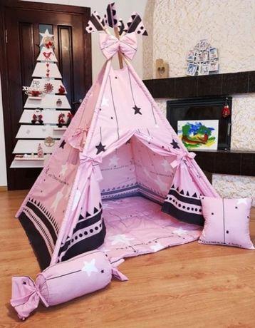 Вигвам палатка детская шатер шалаш халабуда игровой домик