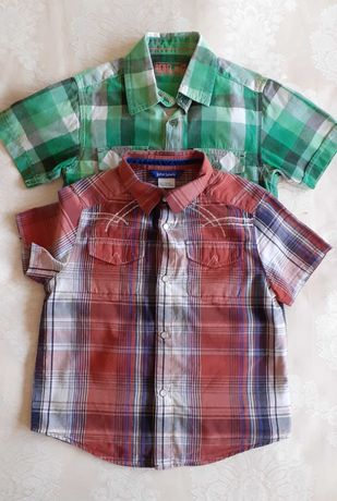 Koszule chłopięce 2sztuki