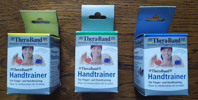Trener dłoni Thera-Band standard - śr. 5cm - żółty, zielony, niebieski