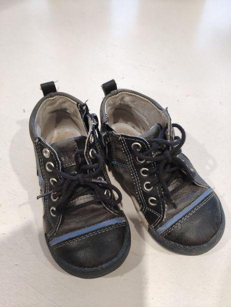 Buty skórzane kornecki rozm. 22