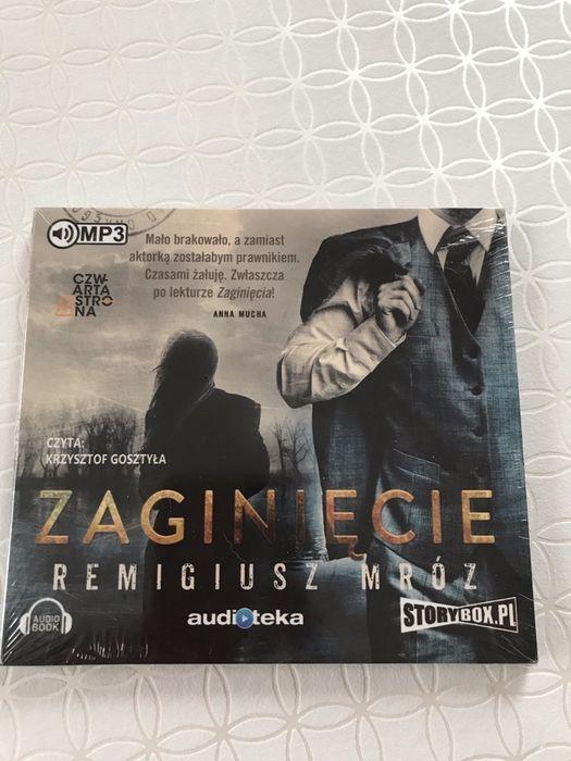 """"""" Zaginięcie"""" Remigiusz Mróz  audiobook folia Gdańsk - image 1"""
