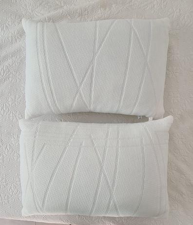 2 almofadas novas 35×50