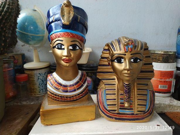 Статуэтка Египет фараон Нифертити оригинал