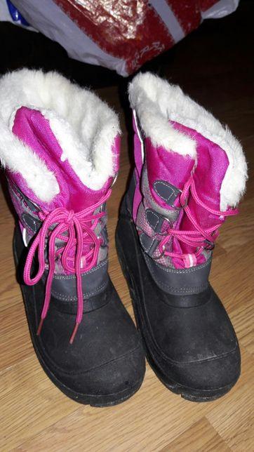 Зимові чоботи снігоходи Sprint 33р. 21см.