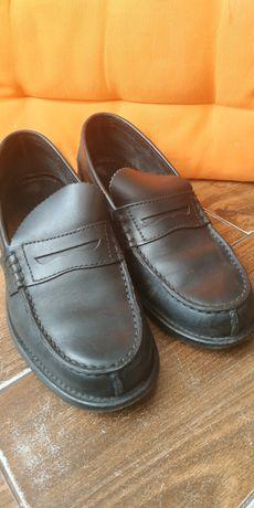 Чоловічі шкіряні туфлі,Clarks (Оригінал Італія) розмір 6 (25 см)