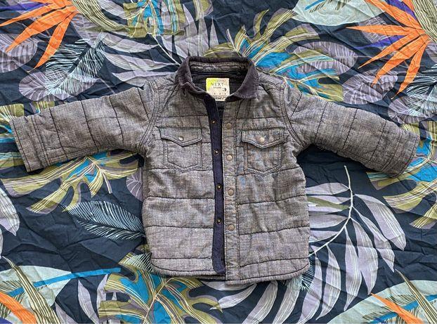 Демисезонная курточка Next на 9-12 месяцев 80 см