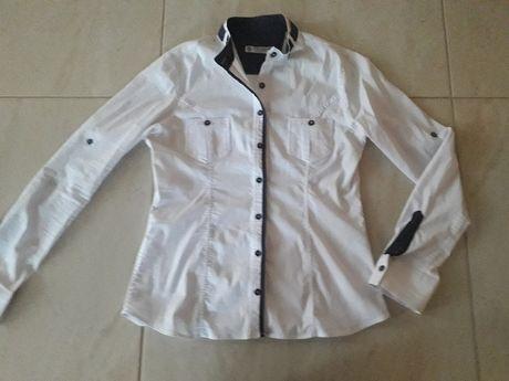 Elegancka biała bluzka, koszula 40