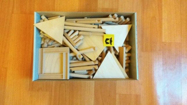 Конструктор деревянный, пазл,забава, игра настольная, игра VarioFort