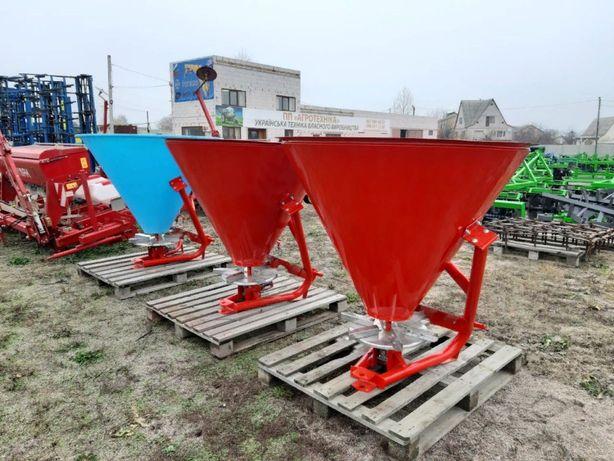 Розкидач міндобрив на 500 кг фірми Jar-Мet Польша (бункер металічний)