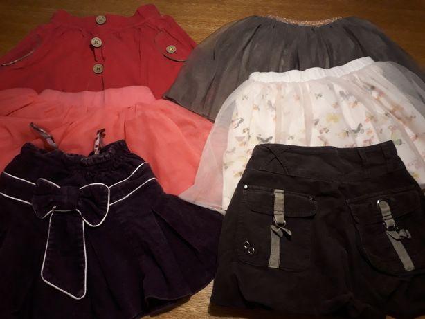 Spódniczki spodniczka 98-110