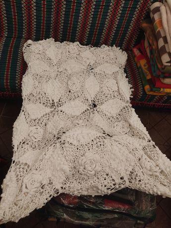 Colcha antiga em crochet