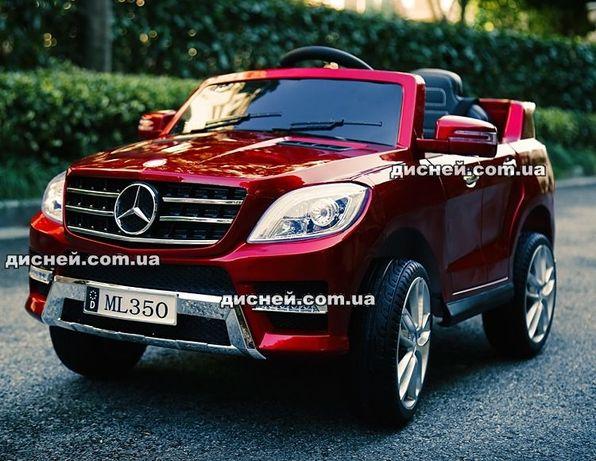 Детский электромобиль Mercedes, 3568 красный, Дитячий електромобiль