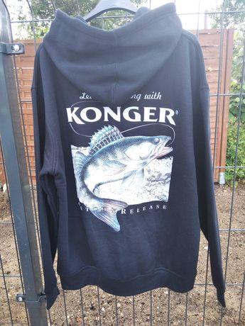 Bluza wędkarska z kapturem KONGER