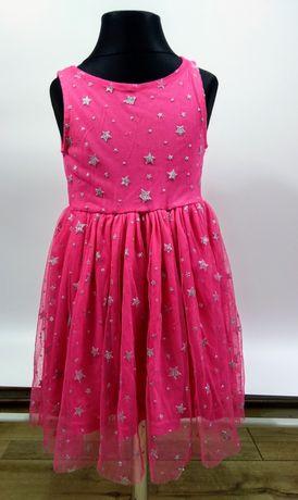 Sukienka w gwiazdki rozmiar 98