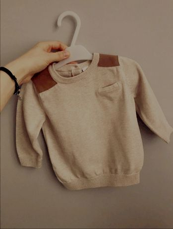 Sweterek dla małego eleganta