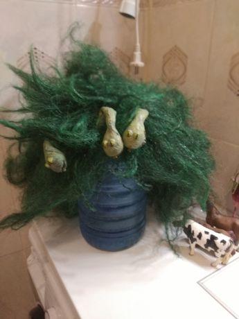 Парик бабы яги со змеями большой , карнавальный костюм для школы
