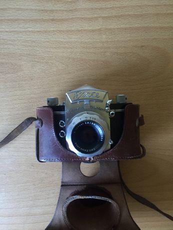Exa Ihagee Dresden + Carl Zeiss Jena Tessar 50mm + Capa + Rolo Oferta