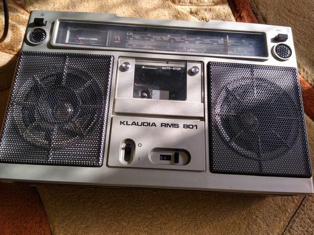 radiomagnetofon  KLAUDIA  RMS 801