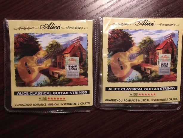 Новые Струны ALICE A106-H для классической гитары отличного качества!
