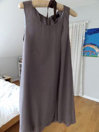 sukienka bombka Vero Moda klasyczna krótka bez rękawów S-M