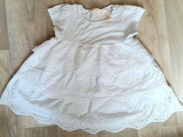 Белое нарядное платье бренда First Impression (можно на крестины)