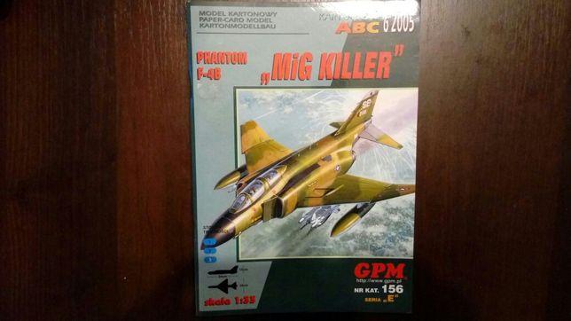 model kartonowy MIG KILLER Phantom F-4B 1:33 GPM