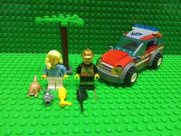 LEGO CITY оригинал пожарная машина Лего Сити 60001