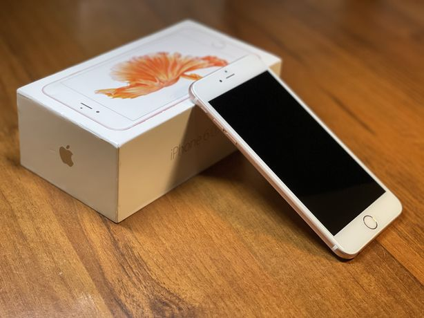Apple iPhone 6S Plus 16 GB Różowy | Stan BDB | Komplet | Bateria 82%
